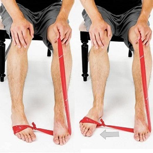 פיזיותרפיה אחרי שבר בקרסול חיזוק 1 תרגילי פיזיותרפיה